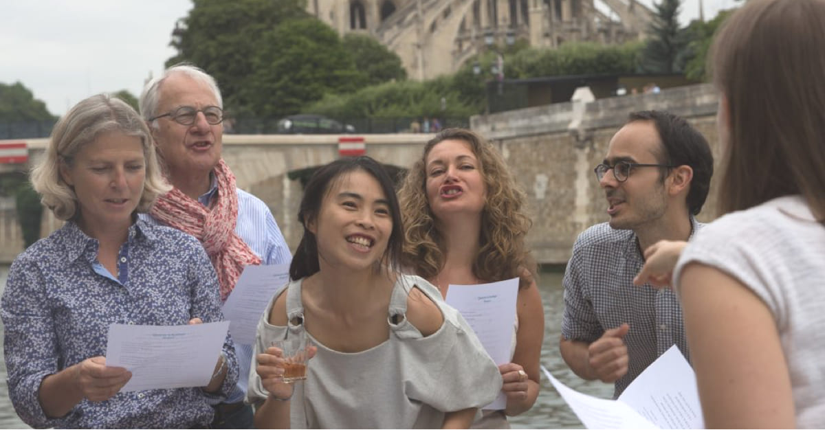 Free French workshops in Paris